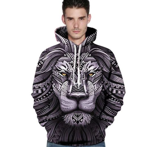 Modern 3D Printing Hoodie T Shirt Cotton Hip Hop Tee Casual Lovers Clothes