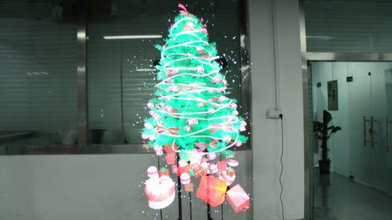 Hologram Christmas Tree Projector.3d Led Fan Display 3d Hologram Projector Led Fan 3d Hologram