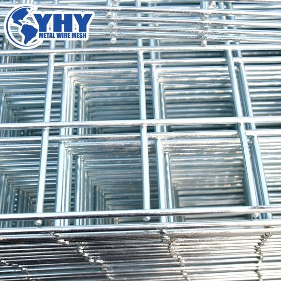 China 10 Gauge Galvanized Welded Wire Mesh Fence Panel China Welded Panel Fence Fence Panel