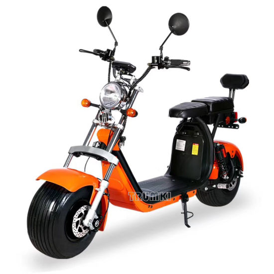 China European 2 Seat Eec Electric Scooter For Adults