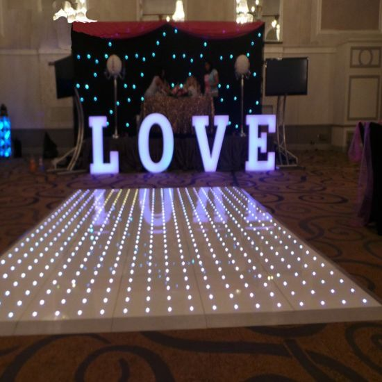 Light up Video Interactive Starlit Dance Floor Used 3D LED Dance Floor for Sale