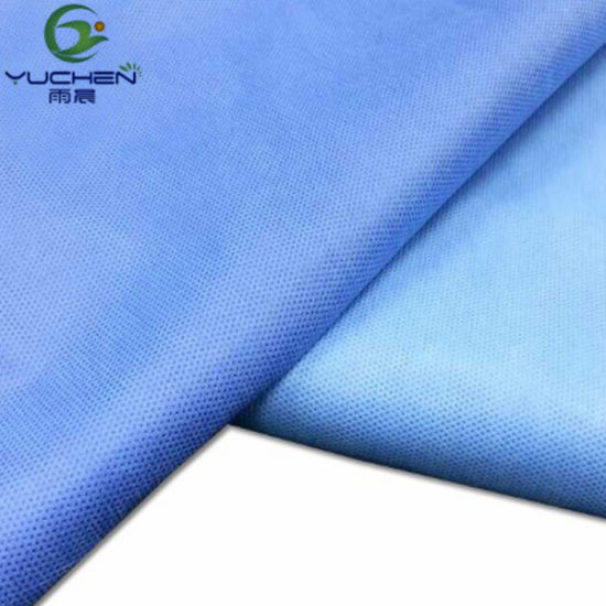 Wholesale Fabric Rolls SMS Nonwoven/Surgical Fabric SMMS Non-Woven Cloth/Medical Grade SMS Nonwovens pictures & photos