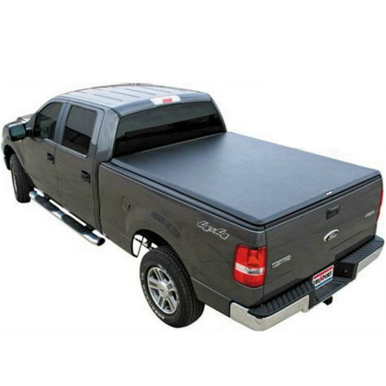 Soft Tri Fold Tonneau Cover For Tundra 5 1 2 Crew Max Bed China Pickup Truck Cover Pickup Rear Cover Made In China Com