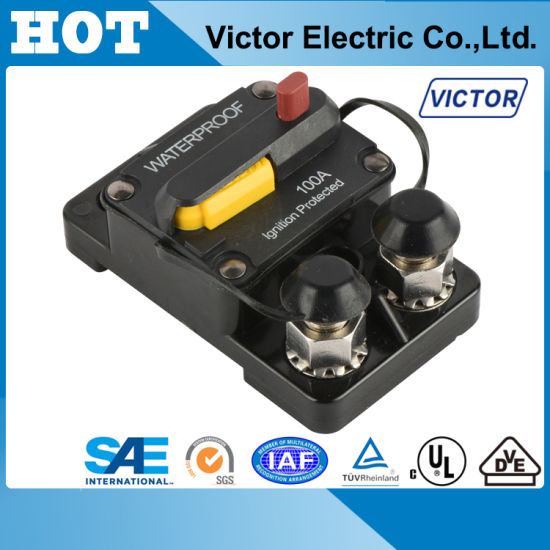 Bussmann, Hi-AMP, Auto, Manual& Switchable Reset Circuit Breaker
