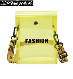 Guangzhou Wholesale Colorful Mini PVC Fashion Lady Phone Bag/Wallet/Purse (J555)