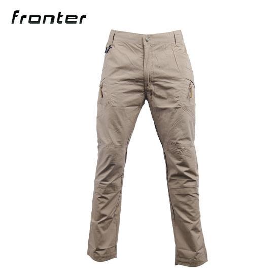 Men's IX9 Solid Tactical Outdoors Trousers Cargo Cotton Pants
