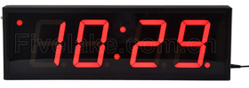 4 Inch 4 Digit LED Digital Wall Clock Display pictures & photos