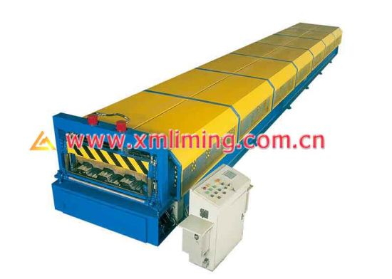 Xiamen Liming Brand Yx51-315-945 Roll Forming Machine for Decking