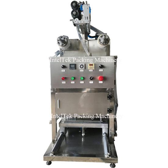 Wholesale Low Price Manual Semi Automatic Food Vacuum Tray Sealer