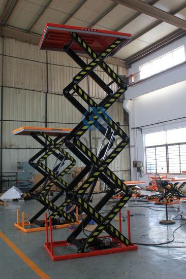 Wide Used Stationary Lift Platform Hf Series Scissor Lift Tables