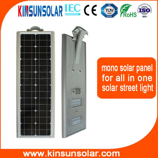 All in One Solar Street Light 40W Mono Solar Panel pictures & photos