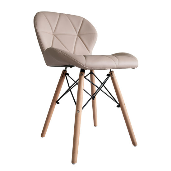 Luxury Design Factory Direct Selling Bar Stool Garden Leather Dining Chair for Living Room