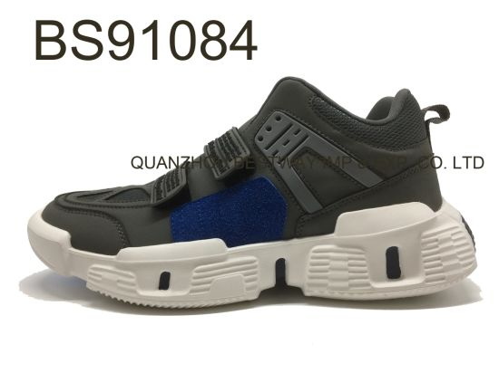 Newest Fashion Man Shoe Wholesale Sneakers With Velcro Sports Shoes