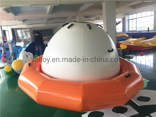 Inflatable Water Saturn Floating Spinner Rocking pictures & photos