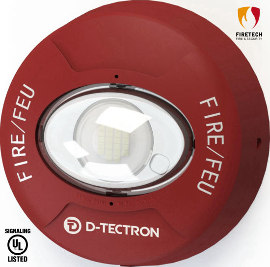 UL Listed Fire Alarm System Wall/Ceiling Mounted Strobe for Indoor-Use Applications Dt981r/Dt982r pictures & photos