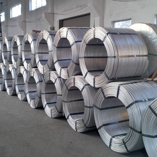 0.3mm 0.9mm, 1.25mm Hot DIP Galvanized Steel Wire Coil Packing for Armouring Cables