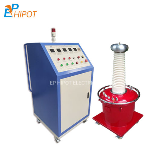 High Quality DC and AC High Voltage Testing Equipment Power Frequency Voltage Withstand Test Kit for Power Transformer
