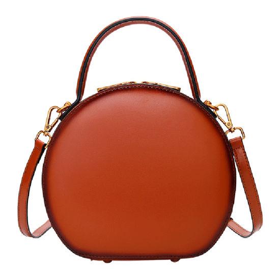Fashion Retro Style Round Ladies Shoulder Handbags