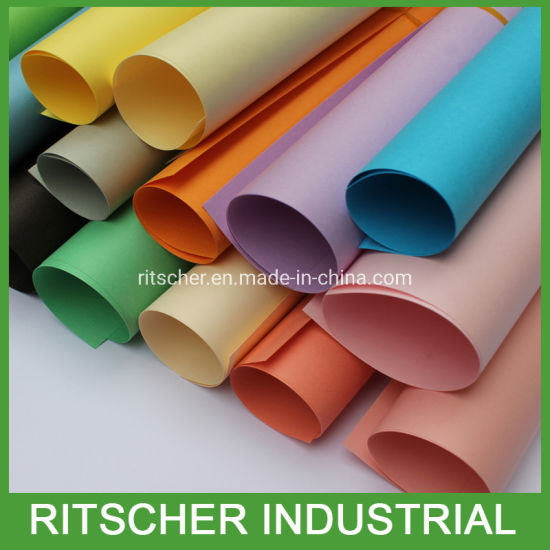 Color Paper Pearl Paper Packaging Paper Kraft Paper for Package