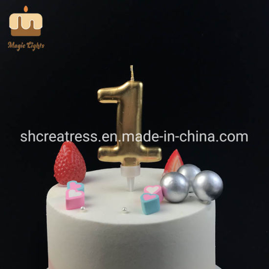 Fantastic China Giant Gold Number 1 Birthday Cake Candle Topper China Funny Birthday Cards Online Fluifree Goldxyz