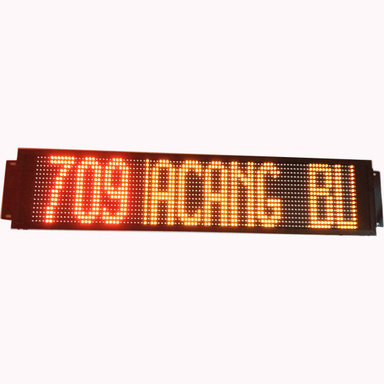 Programmable Indoor Electric Bus LED Sign Board