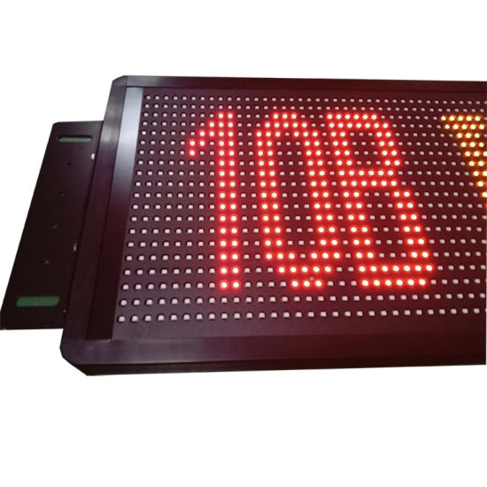 Running Scrolling Message Bus LED Display Sign for Destination