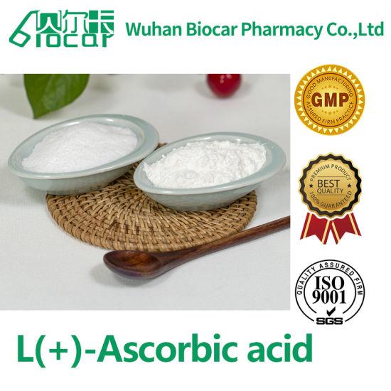 Vitamin C GMP Factory Vitamin C Acid Ascorbiqu Vitamin C Crystal Powder (CAS: 50-81-7)