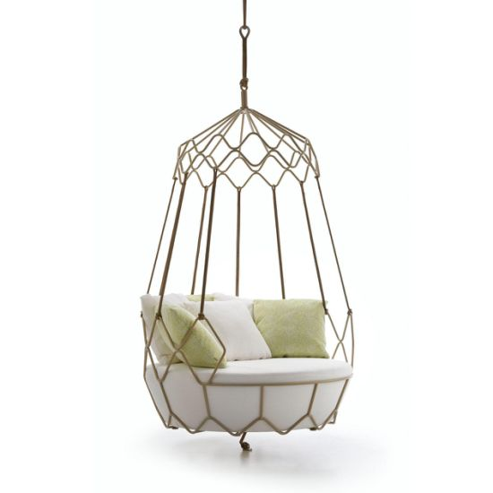 High Quality Hotel Furniture Modern Outdoor Hanging Chair Patio Leisure Chair Garden Swing