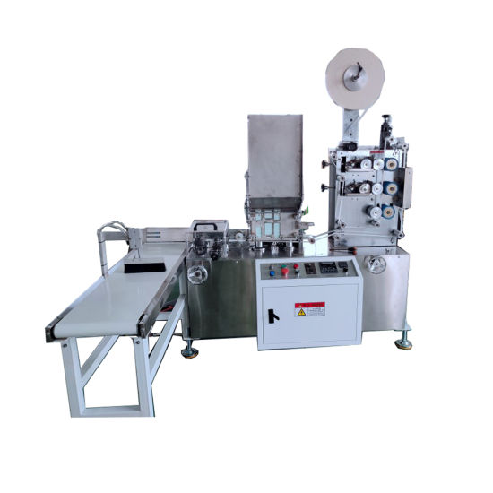 2021 PLA Biodegradable Disposable Straw Wrapped Machine