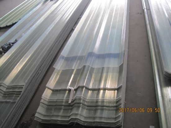 China Clear Frp Roof Sheet Fiberglass Corrugated Roofing