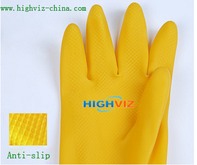 Latex Safety Gloves for Working Protection (LG-001) pictures & photos