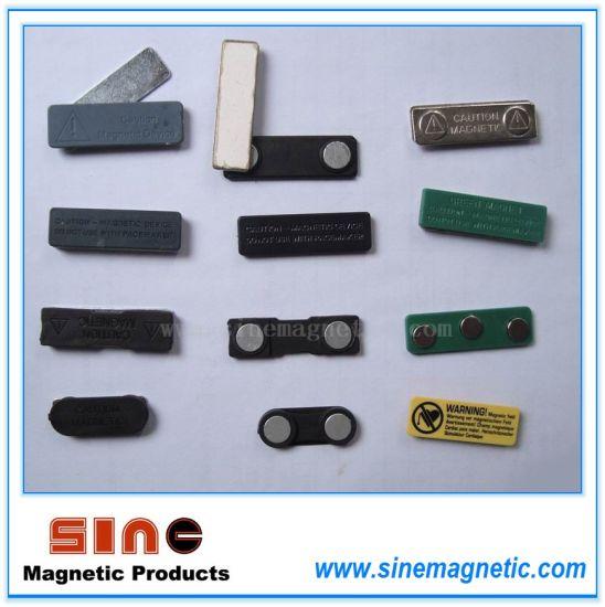 Magnetic Name Badge/ Magnetic Name Holder