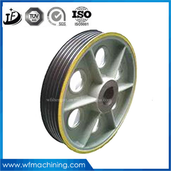 OEM Sand Casting Engine Flywheel with Center Hole Processing Cast Iron Flywheel, Cast Iron Pulley pictures & photos
