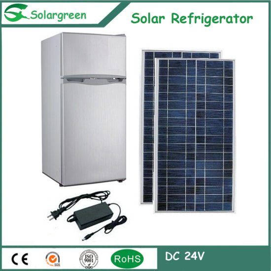 Hot Selling 138L Mini Refrigerator Hotel Use Fridge Solar pictures & photos