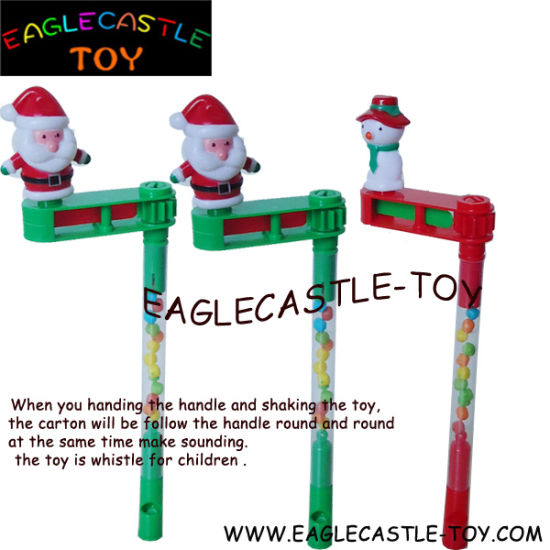 Santa Claus Whistle Children Toy Candy for Christmas Gift (CXT13933)
