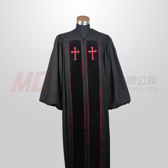 dfa55b031ac China 12 Popular Colors Personalized Choir Robe Clergy Robes - China ...