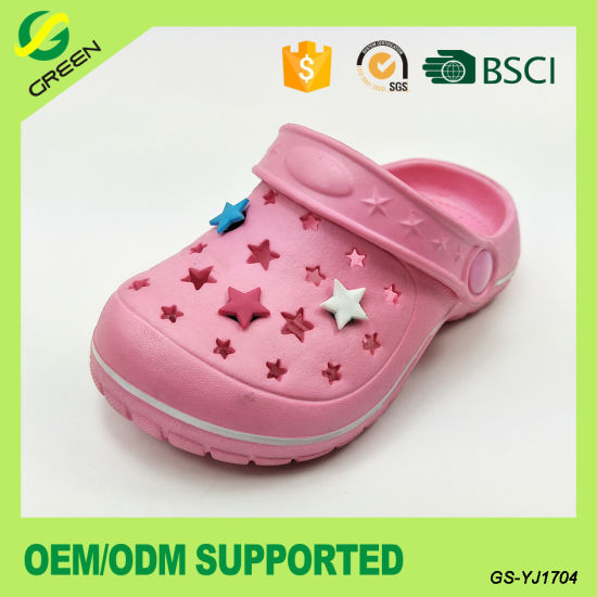 2017 EVA Kids Clogs Garden Shoes for Children pictures & photos