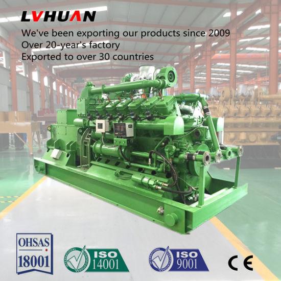 500kVA 1MW Biogas Landfil Gas Power Plant Gas Engine Generator