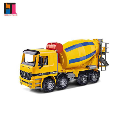 Newest Free Wheel Plastic Concrete Mixer Truck Toy for Sale pictures & photos