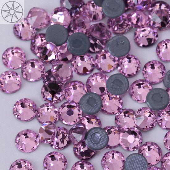 Super Shiny Clear Cut 8 Small 8 Big 16 Facets Top Quality Rhinestones Hot  Fix Crystal 09a8f943fa8e