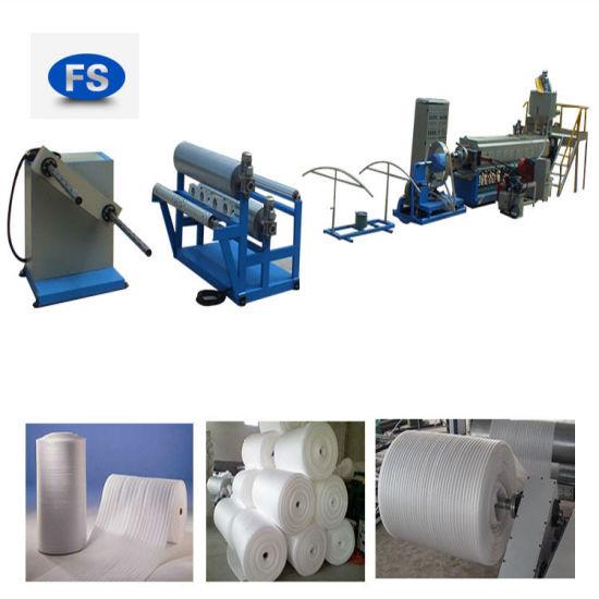 Plastics Plant for Aluminium Foil EPE Foam Extrusion Machine