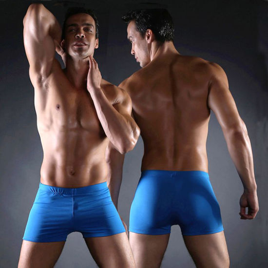 Square Leg Swimsuit, Aqua Shorts for Man Swimming pictures & photos