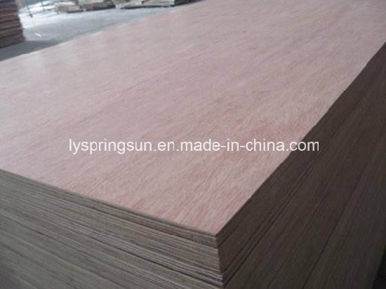 Linyi Furniture Grade Red Hardwood Bintangor Plywood pictures & photos