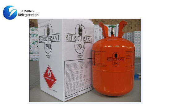 China 74-98-6 AC Refrigerant Gas R290 Clear Colorless in