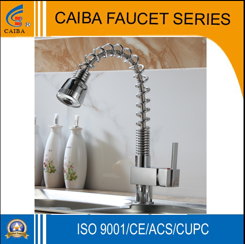 Modern Single Handle Lavatory Faucet (CB-31801) pictures & photos