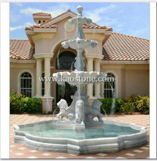 Granite/Marble Stone Outdoor Water Fountain for Garden pictures & photos