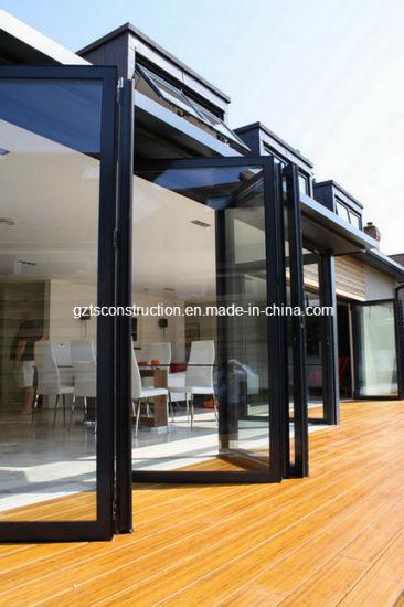 High Quality Modern Aluminium Bi-Folding Door