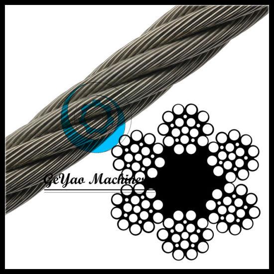 China Ungalvanized 6*21 Fiber Core Wire Rope Drilling Line - China ...