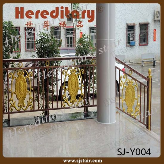 Grand Prefab Weather Proof Outdoor Metal Stair Railing pictures & photos