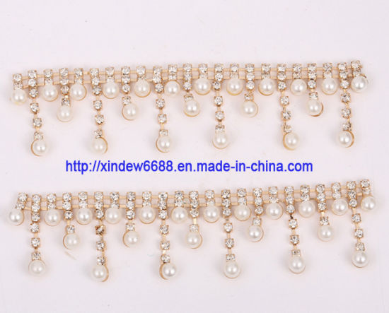 Shoe Chain Trimming Rhinestone Shoe Decoration for Women Shoe